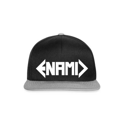 ENAMIC Logo weiß - Snapback Cap