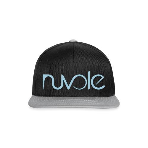 Nuvole - Logo esteso blu - Snapback Cap