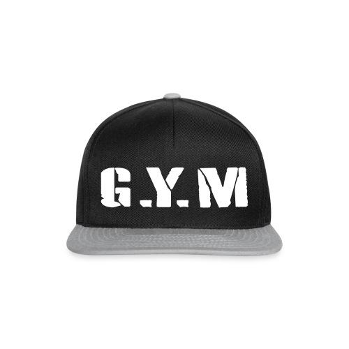 G.Y.M Outline - Snapback Cap