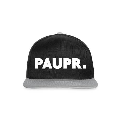 PAUPR. - Snapback cap