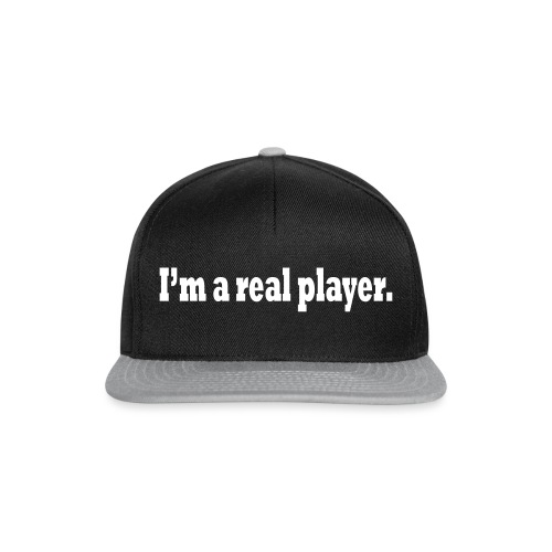 PLAYER - Snapback Cap