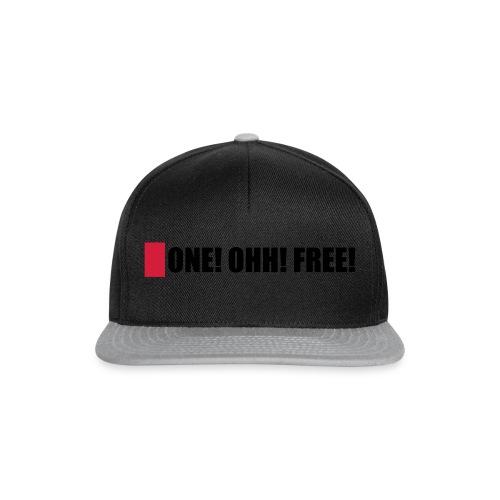 ONE! OHH! FREE! - Snapback Cap