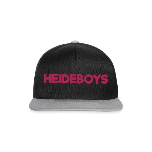 Heideboys Schriftzug - Snapback Cap