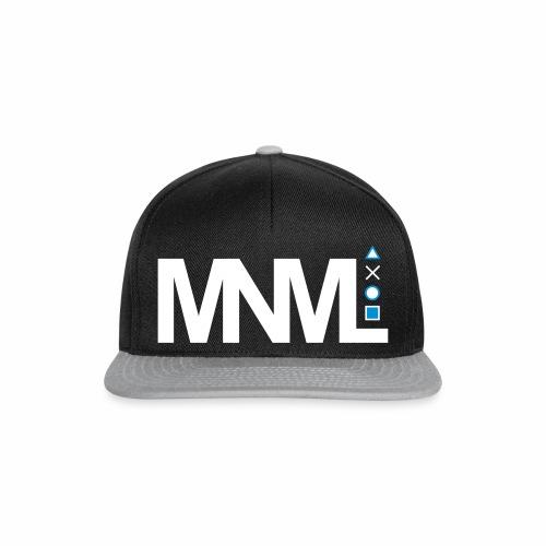 MNML Schrift Symbole Logo minimalistisch Text Icon - Snapback Cap