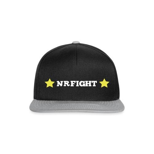 nrfight logo 1 - Casquette snapback