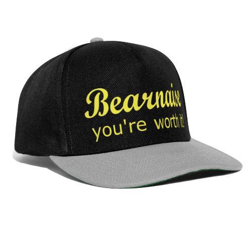Bearnaise - you're worth it! - Snapback Cap