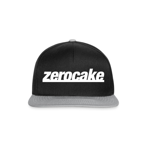 zc-simple-logo-white - Snapback Cap