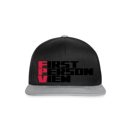 First Person View - Snapback Cap