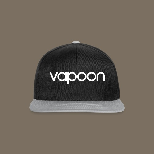 Vapoon Logo simpel 01 - Snapback Cap