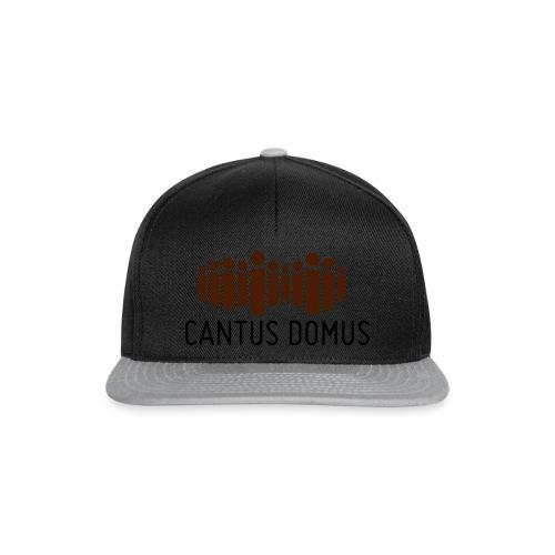 Cantus Domus Logo ohne Untertitel 2c - Snapback Cap