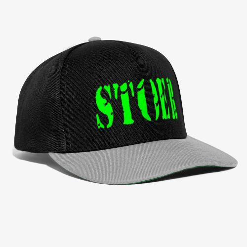 stoer tshirt design patjila - Snapback Cap
