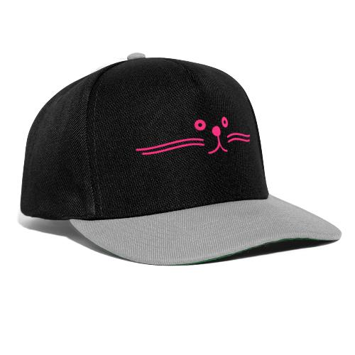 moustache de chat happy - Casquette snapback