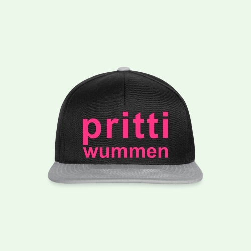 pritti wummen // pretty woman // girl power - Snapback Cap