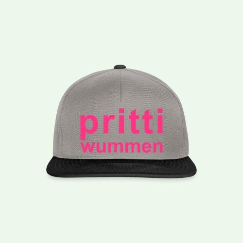 pritti wummen // pretty woman // girl power - Snapback Cap
