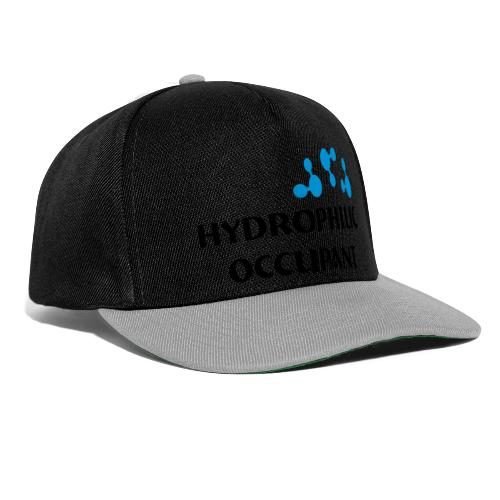 Hydrophilic Occupant (2 colour vector graphic) - Snapback Cap