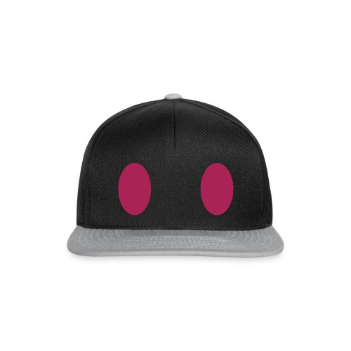 Zwei lila Augen - Weit 2 - Snapback Cap