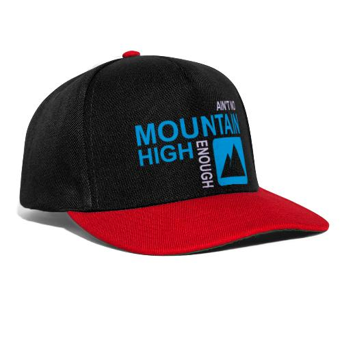 No Mountain - Snapback Cap