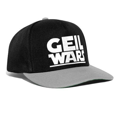 geil wars - Snapback Cap