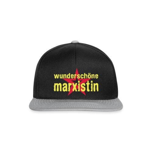wunderschoene marxistin - Snapback Cap