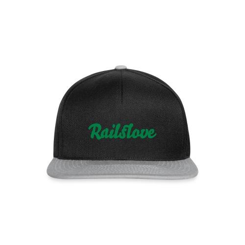 railslove green - Snapback Cap