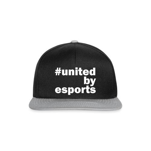 United By Esports weiß - Snapback Cap