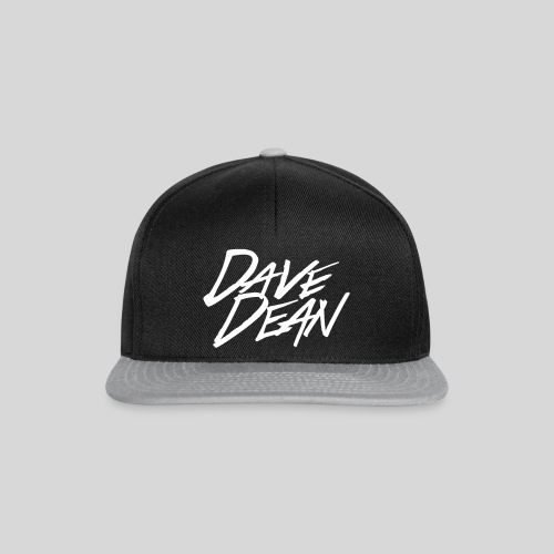 4617107 123302572 dave dean logo alpha o - Snapback Cap