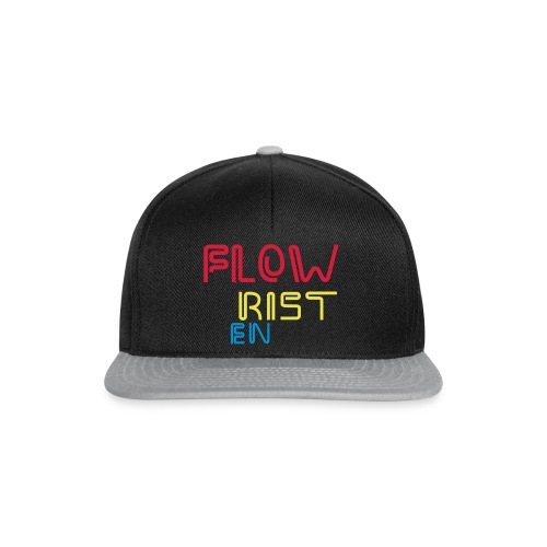 Flowristen-leuchtschrift - Snapback Cap