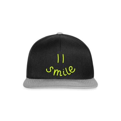 Smile-y - Snapback Cap