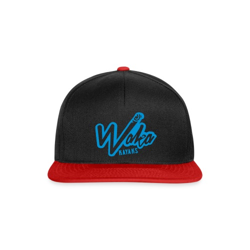 Waka hat logo reverse 80x - Snapback Cap