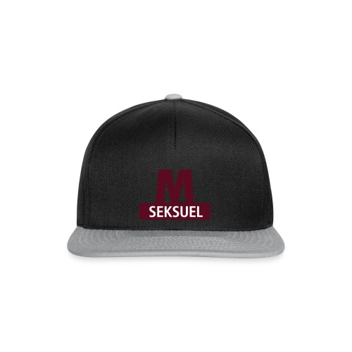 Metroseksuel - Snapback Cap