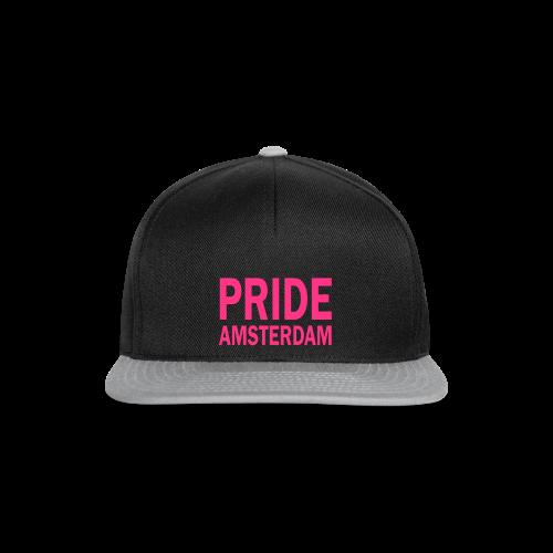 Pride Amsterdam in roze - Snapback cap
