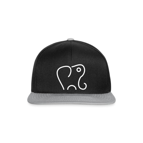 Vektor Elefant - Snapback Cap
