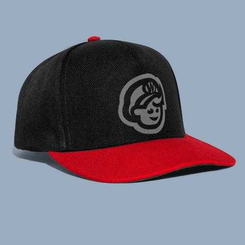 logo bb spreadshirt bb kopfonly inv - Snapback Cap