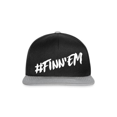 Finn'EM logo - Snapback Cap