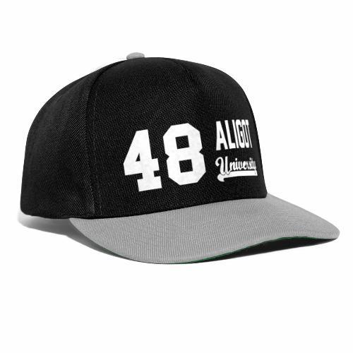 48 ALU long 26 cm - Casquette snapback