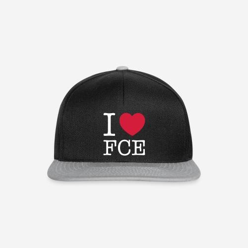 i-love-fce_final_sprd - Snapback Cap