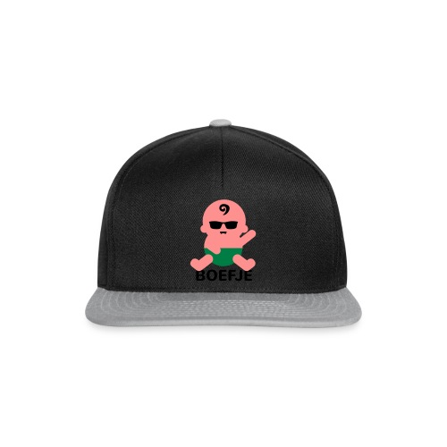 Grappige Rompertjes: Boefje - Snapback cap
