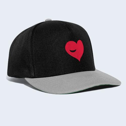 Winky Heart - Snapback cap