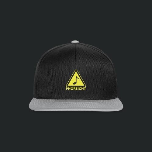 Pulli-schwarz-hinten - Snapback Cap