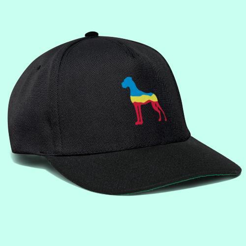 Flaggen Dogge - Snapback Cap