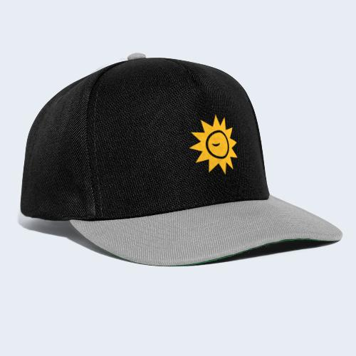 Winky Sun - Snapback cap