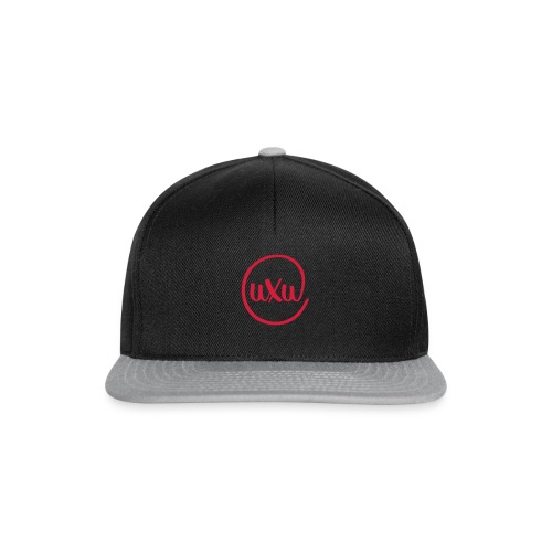 UXU logo round - Snapback Cap