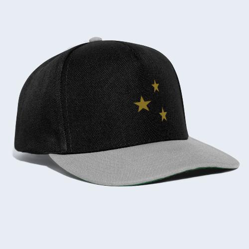 3 Stars - Snapback cap