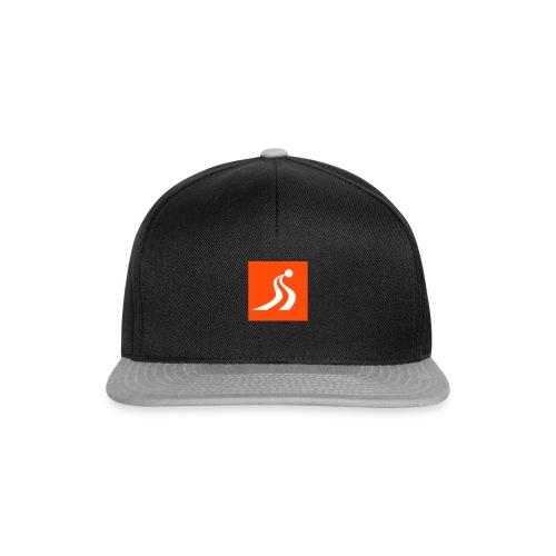 Santa Claus Ski Team Icon - Snapback Cap