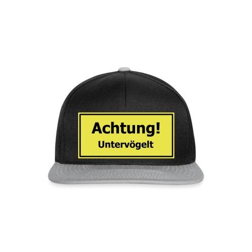 Achtung! Untervögelt - Snapback Cap