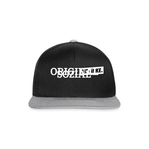 Schriftzug_original - Snapback Cap