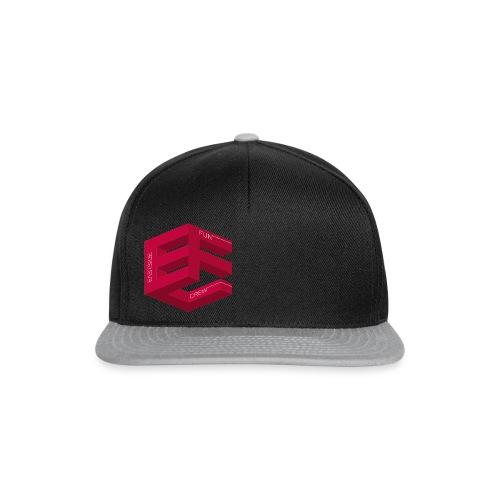 EFC Cube mitSchrift hq png - Snapback Cap