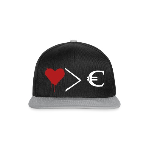 coeurargent (blanc) - Casquette snapback