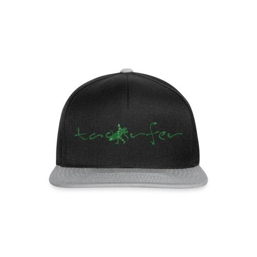 taosurfer_washed_darkgreen - Snapback Cap