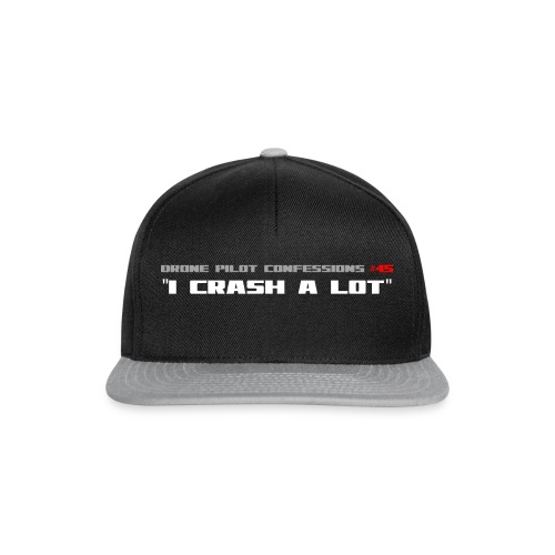 I CRASH A LOT - Snapback Cap